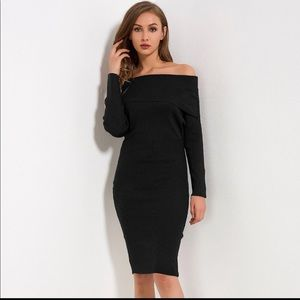 Dresses & Skirts - Price ⬇️ $40 Bodycon off the shoulder pencil dress